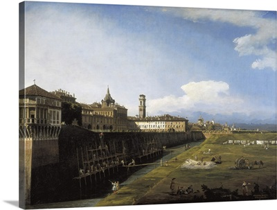 View of Turin from the Gardens of the Palazzo Reale