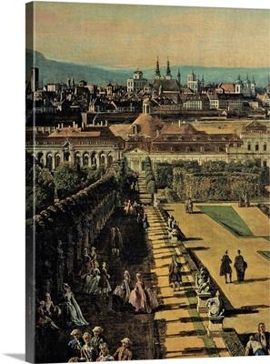 View of Vienna from the Belvedere, by Bernardo Bellotto,1759-60. Kunsthistorisches