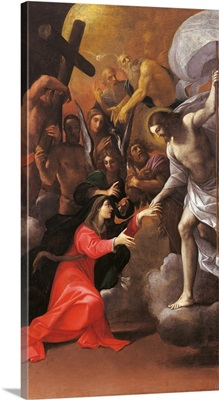 Virgin and the Release of the Chosen from the Limbo, by Ludovico Carracci, c.1610