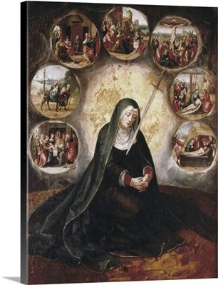 Virgin of the Seven Sorrow, 1520-40