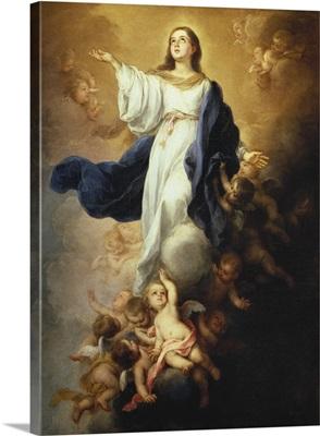Walpole Immaculate Conception, Ca. 1680
