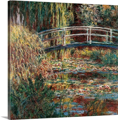 Water Lily Pond Pink Harmony, By Claude Monet, 1900. Paris, France
