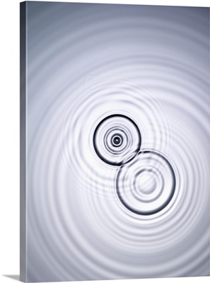 Water Ripples, View From Above