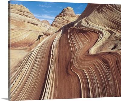 Wavy patterns In Rock