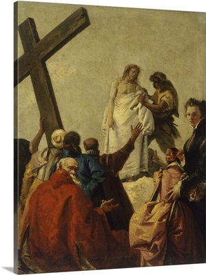 Way Of The Cross, Station X - Christ Stripped Of His Garments, By Giandomenico Tiepolo