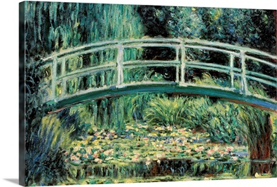 White Water Lilies, By Claude Monet, 1899. Pushkin Museum, Moscow, Russia