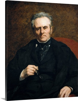 William Sisley. 1864. Father of painter Alfred Sisley