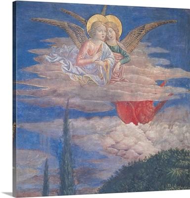 Worshipping Angels, by Benozzo Gozzoli, 1459-60. Palazzo Medici-Riccardi, Florence