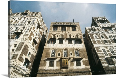 Yemeni adobe architecture