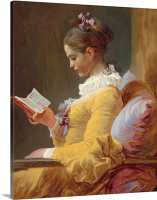 Young Girl Reading, by Jean-Honore Fragonard, c. 1770