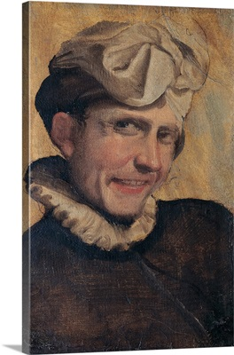 Young Man Laughing, by Annibale Carracci, 1583-1584. Borghese Gallery, Rome, Italy