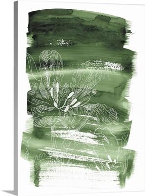 Green Moss Batik