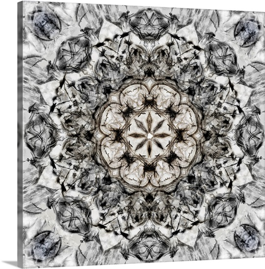 Black white kaleidoscope i