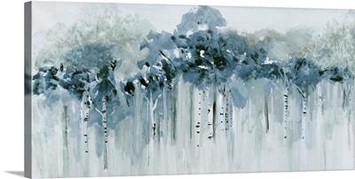 Blue Birch Morning