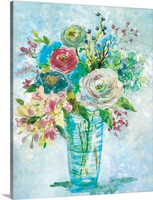 Blue Bouquet I