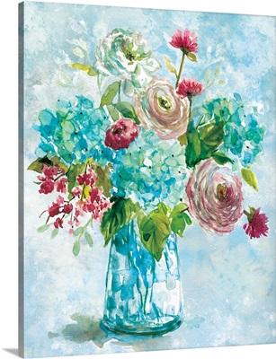 Blue Bouquet II