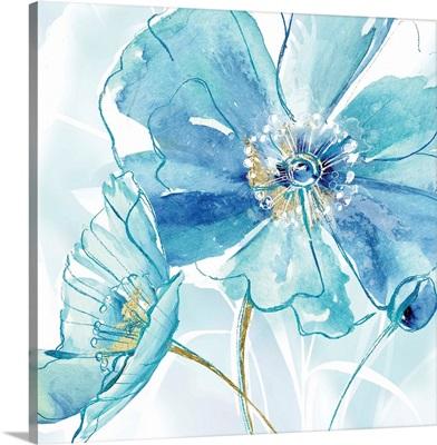 Blue Spring Poppy I