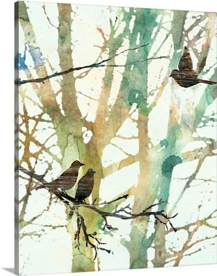 Botanical Birds I