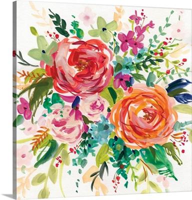 Bright Bouquet I