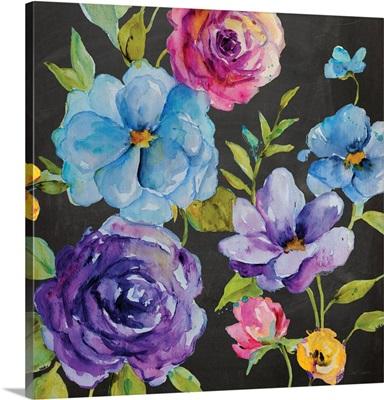 Chalk Flower Medley I