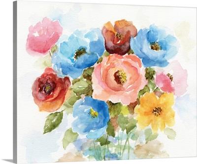 Color Wheel Bouquet I