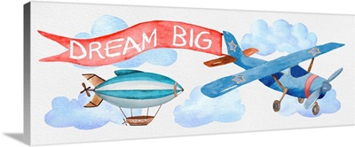 Dream Big Airplane