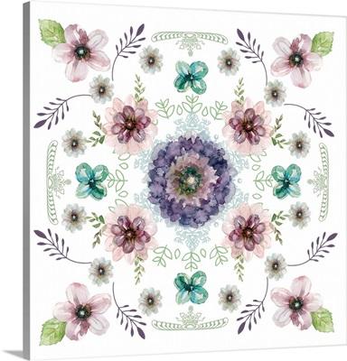 Floral Kaleidoscope I