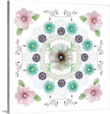 Floral Kaleidoscope II