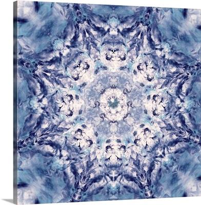 Indigo Gem Kaleidoscope I