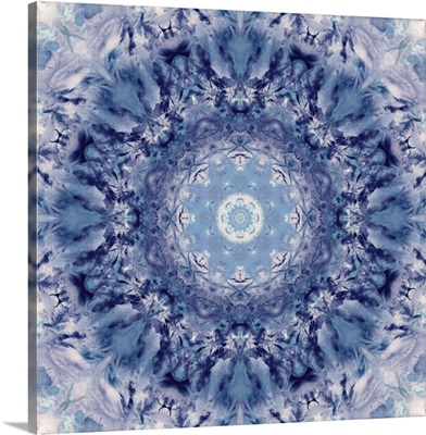 Indigo Gem Kaleidoscope III