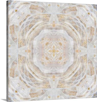 Light Metallic Kaleidoscope I
