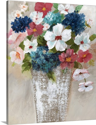 Linen Bouquet I