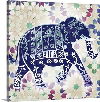 Painted Elephant I