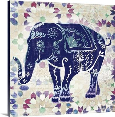 Painted Elephant II