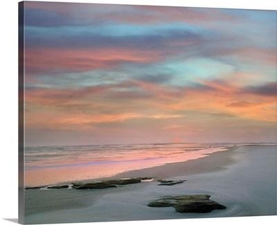Sunset at Matanzas Beach