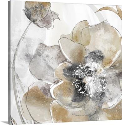 Taupe Spring Poppy I