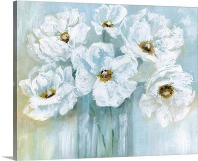 White Poppy Bouquet