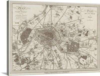 1805 Paris Map