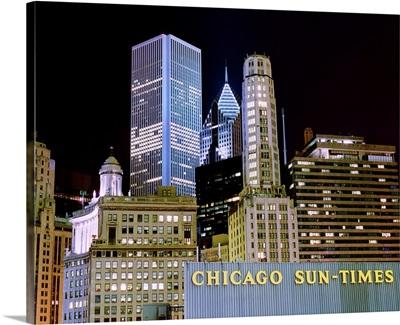 Chicago at Night I