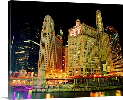 Chicago at Night II