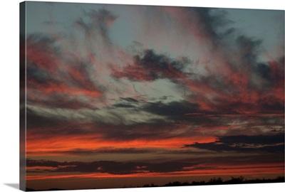Cloudy Sunset II