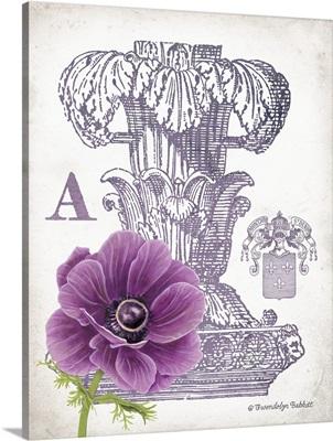 Column and Flower A