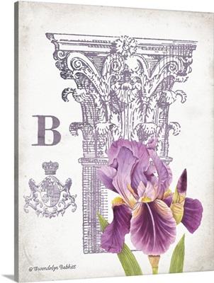 Column and Flower B