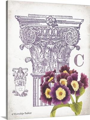 Column and Flower C