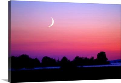 Crescent at Twilight