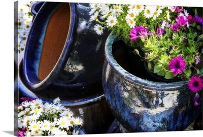 Glazed Flower Pots II