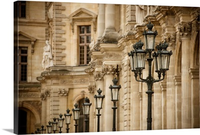Louvre Lampposts I