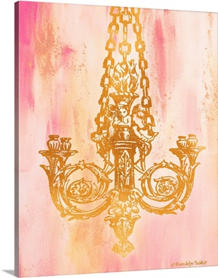 Pink and Gold II