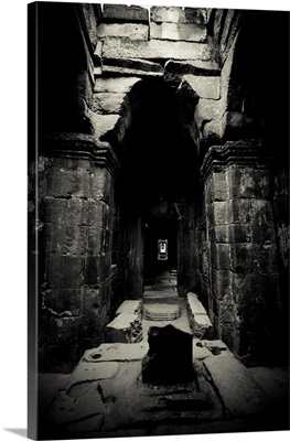 Preah Khan, Black and White