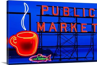 Public Market Sign I